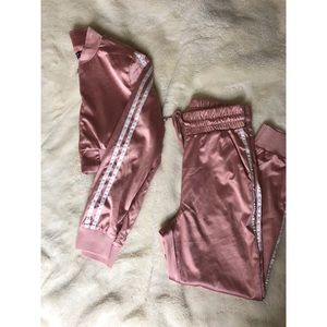 FN Satin 2 Piece Jogger Set